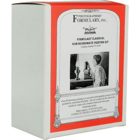Photographers' Formulary Gum Bichromate Printing Kit, Classic Kit with Black Pigment, Makes 50 8x10 Prints - image 1 of 2
