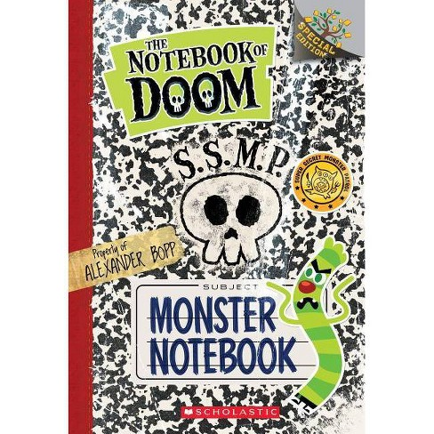 Monster Notebook: A Branches Special Edition (the Notebook of Doom) - by  Troy Cummings (Paperback) - image 1 of 1