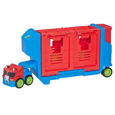 Transformers Rescue Bots Academy Launcher Trailer - Optimus Prime