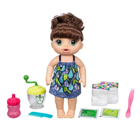 Baby Alive Sweet Spoonfuls Baby Doll Girl - Brunette - image 1 of 10
