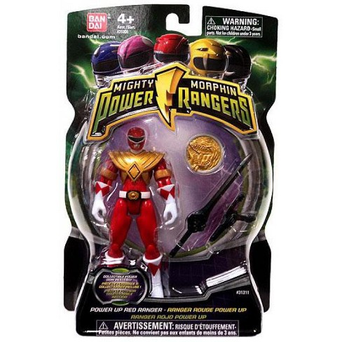 Power Rangers Mighty Morphin 2010 Power Up Red Ranger Action Figure - image 1 of 1