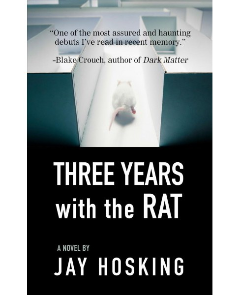 Three Years with the Rat -  Large Print by Jay Hosking (Hardcover) - image 1 of 1