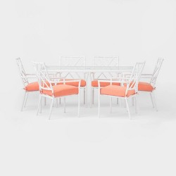 Pomelo 7pc Patio Dining Set with Armless Chairs - Opalhouse™