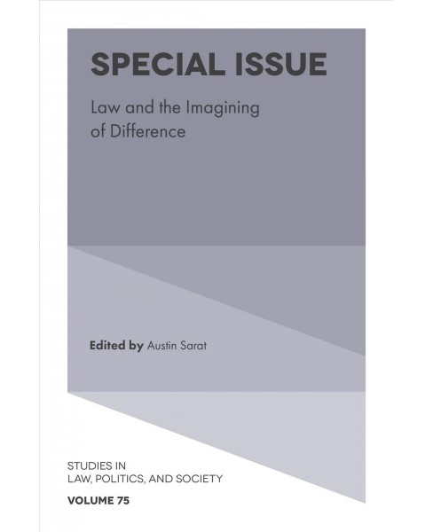 Law and the Imagining of Difference -  Special (Hardcover) - image 1 of 1