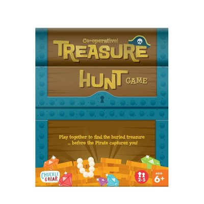 Chuckle & Roar Treasure Hunt Co-Op Family Board Game for Kids