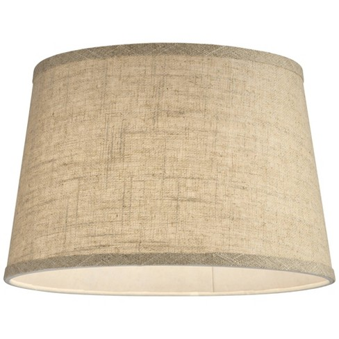 Brentwood Natural Fine Burlap Drum Lamp Shade 10x12x8 (Spider) - image 1 of 3