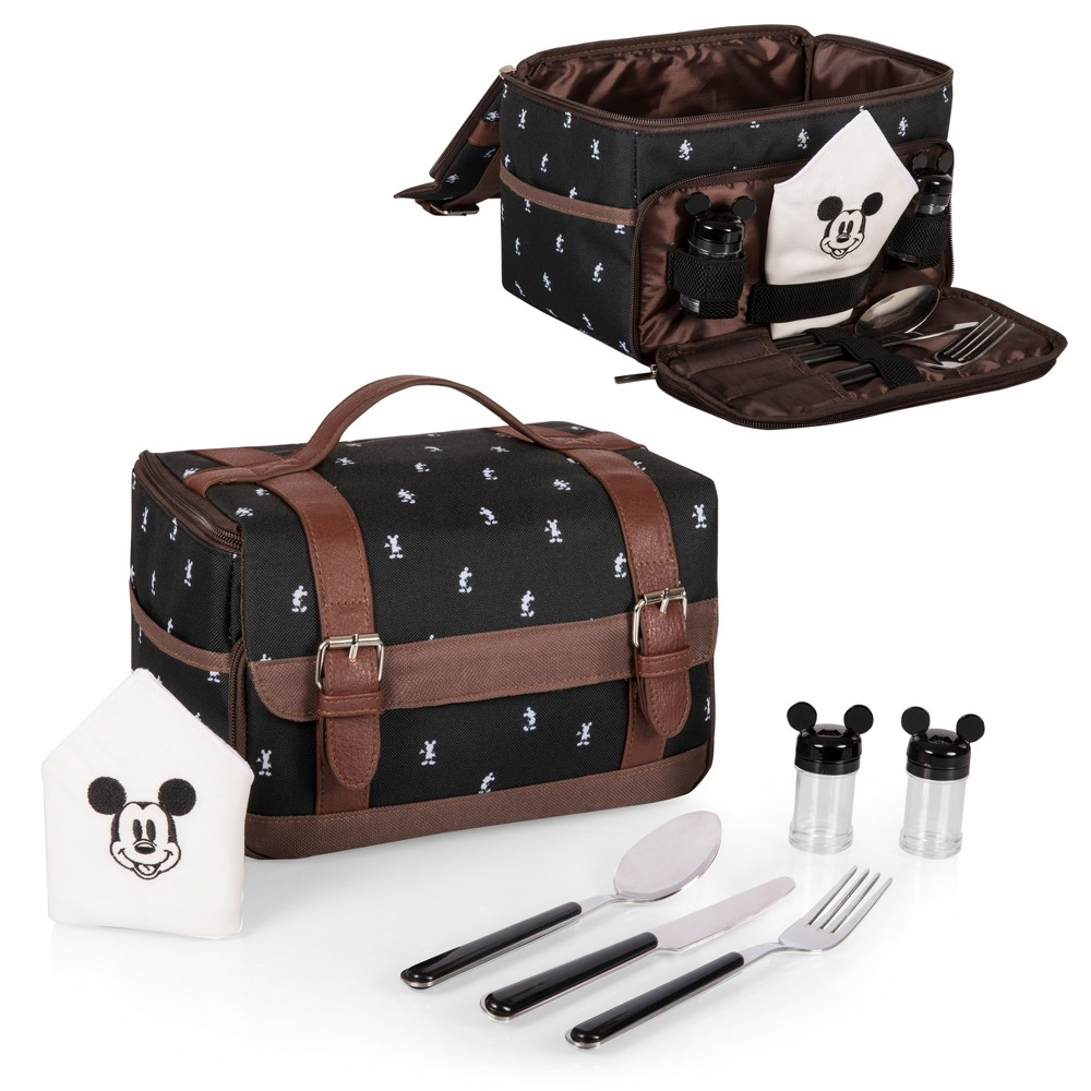 Image of Picnic Time Mickey Mouse Lunch Tote - Black