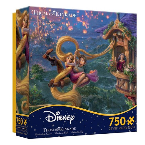 Ceaco Disney Thomas Kinkade: Tangled Jigsaw Puzzle - 750pc - image 1 of 3