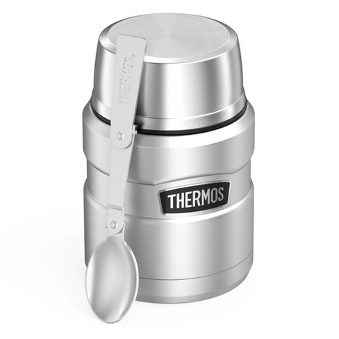 Thermos 16oz Stainless King Food Jar with Spoon -Stainless Steel - image 1 of 6