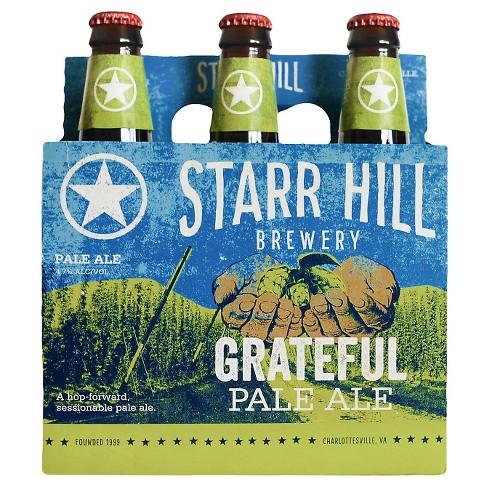 Starr Hill Grateful Pale Ale - 6pk/12 fl oz Bottles - image 1 of 1