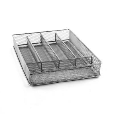 Design Ideas Mesh Silverware Tray – Drawer Organization and Storage Tray