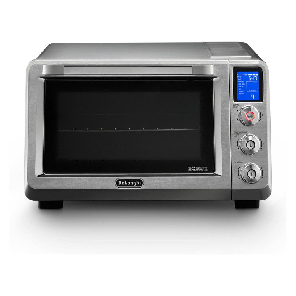 Delonghi Livenza 2000W Multi Function Convection Oven – Silver 53245005
