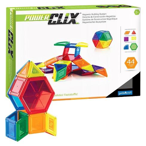 Guidecraft PowerClix Solids 44 Piece Set - image 1 of 4