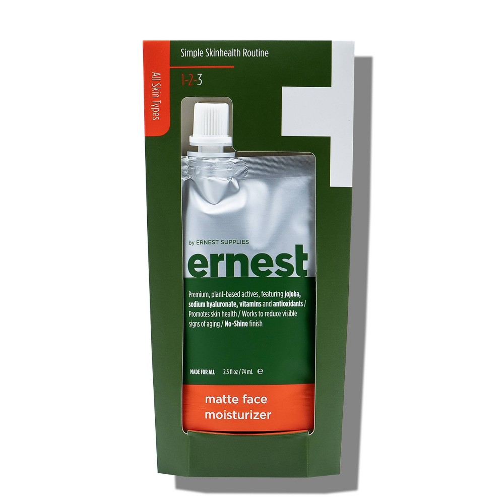 Image of ernest by Ernest Supplies Matte Face Moisturizer - 2.5oz