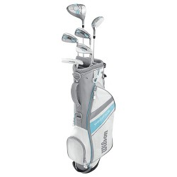Wilson Profile Large Women's 9-Piece Golf Club Set with Lightweight Stand Bag