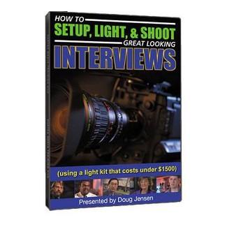 Vortex Media How To Setup, Light, & Shoot Interviews , Instructional DVD (60 Minutes) : Target