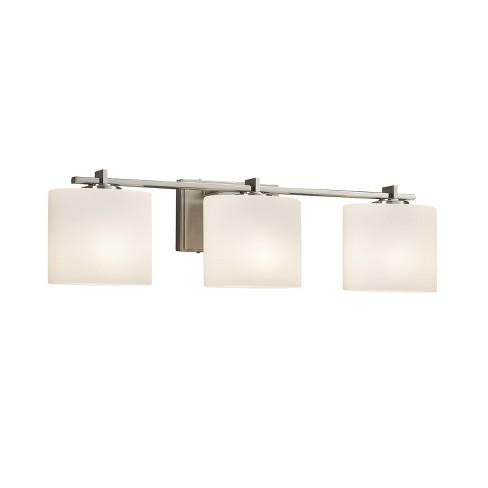 """Justice Design Group FSN-8443-30-OPAL-LED3-2100 Fusion Single Light 26-3/4"""" Wide Integrated 3000K LED Bathroom Vanity Light - image 1 of 1"""