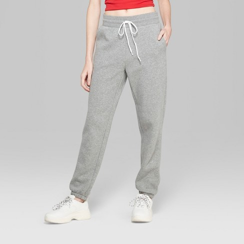 c6767df6feeaba Women's Jogger Vintage Sweatpants - Wild Fable™ Heather Gray : Target