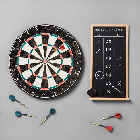Dartboard Set Scoreboard Hearth Hand With Magnolia Target