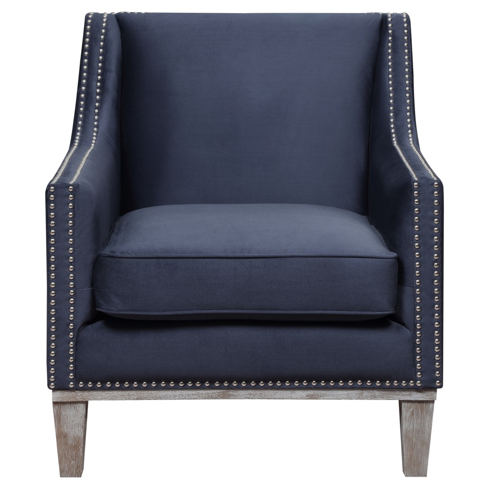 Aster Accent Chair - Navy (Blue) - Picket House Furnishings