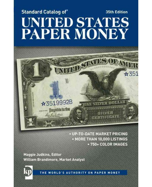 Standard Catalog of United States Paper Money (Paperback) - image 1 of 1