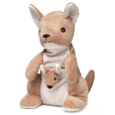 "Intelex Warmies Microwavable Plush 13""  Kangaroo and Joey"