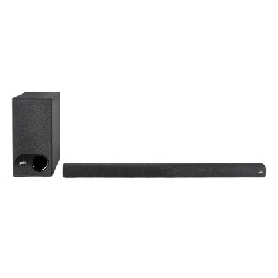 Polk Audio Signa S3 Universal TV Sound Bar and Wireless Subwoofer
