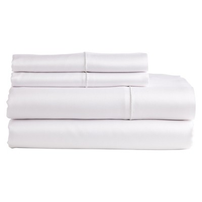 The Bamboo Collection Rayon made from Bamboo Sheet Set - White (Queen)