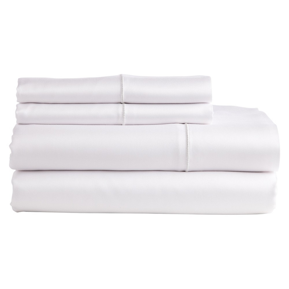 Image of The Bamboo Collection Rayon made from Bamboo Sheet Set - White (King)