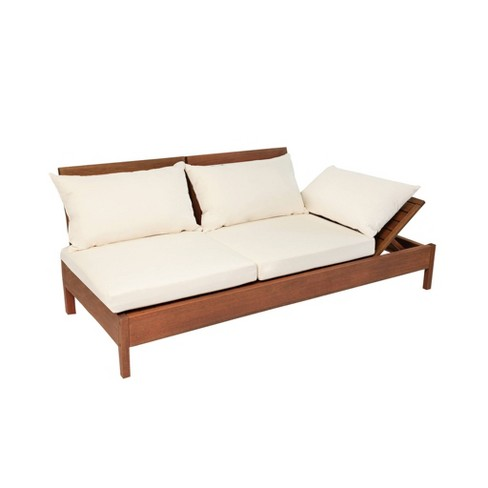 Outdoor Reclining Chaise Lounge Chair