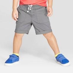 Toddler Boys' Twill Pull-On Shorts - Cat & Jack™ Gray