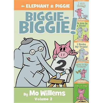 An Elephant & Piggie Biggie! -  (Elephant and Piggie Book) by Mo Willems (Hardcover)