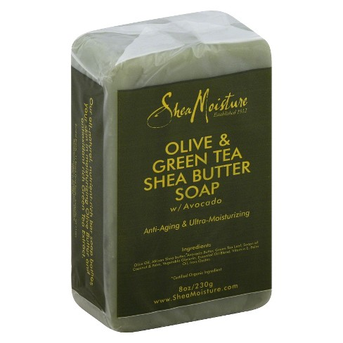 SheaMoisture Olive & Green Tea Shea Butter Soap - 8oz - image 1 of 1