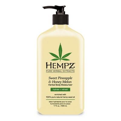 Hempz Sweet Pineapple and Honey Melon Herbal Body Moisturizer - 17oz