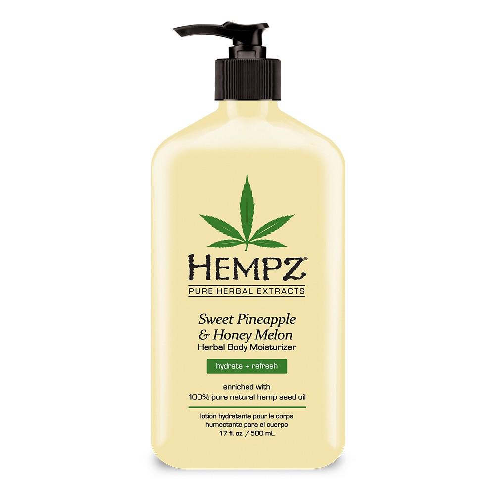 Hempz Herbal Sweet Pineapple And Honey Melon Body Moisturize - 17oz