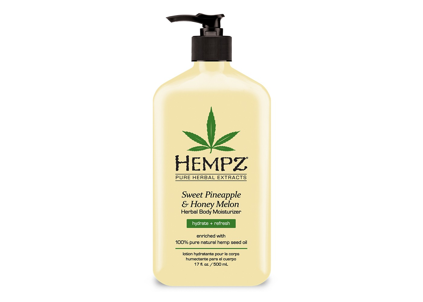 Hempz Herbal Sweet Pineapple And Honey Melon Body Moisturize - 17oz - image 1 of 3