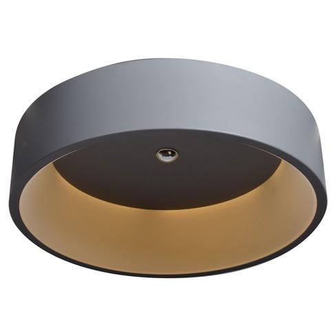 Radiant LED Flush Mount - Gray - Acrylic Lens Diffuser - image 1 of 2