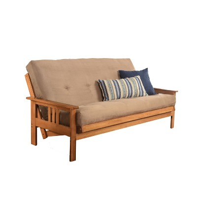 Full Chicago Coil Spring Mattress Futon with Drawers - Dual Comfort