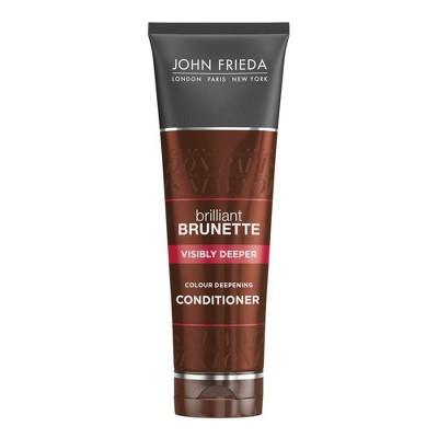 John Frieda Brilliant Brunette Visibly Deeper Conditioner - 8.3 fl oz