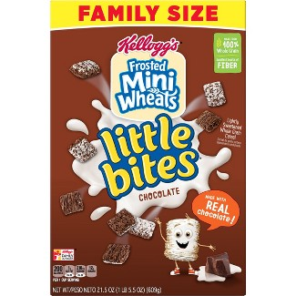 Frosted Mini Wheats Chocolate Breakfast Cereal - 21.5oz - Kelloggs