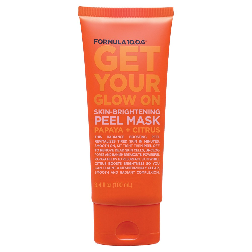 Formula 10.0.6 Skin-Brightening Mask - Papaya Citrus - 3.4 oz