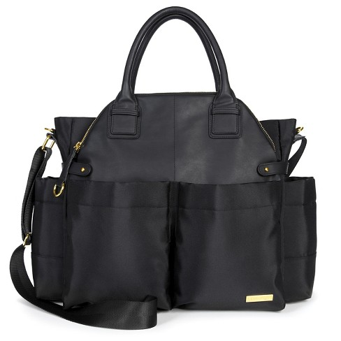 Skip Hop Chelsea Chic Diaper Bag Satchel, Black - image 1 of 4