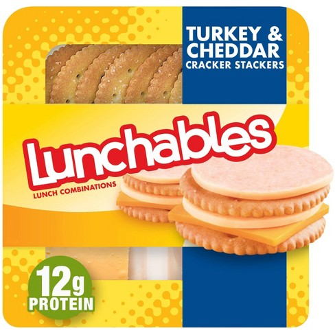 Oscar Mayer Lunchables Turkey & Cheddar with Crackers - 3.2oz - image 1 of 4