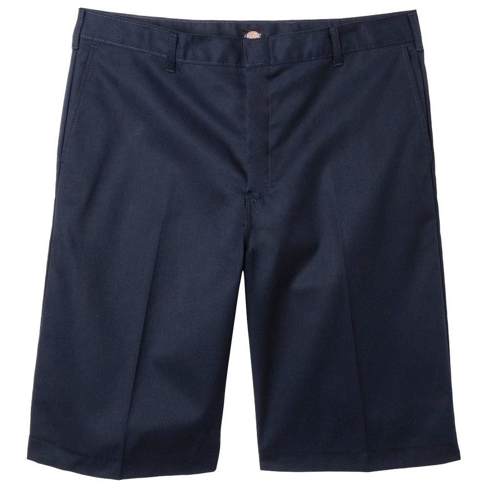 Dickies Young Men's Classic Fit Flat Front Shorts - Navy (Blue) 30