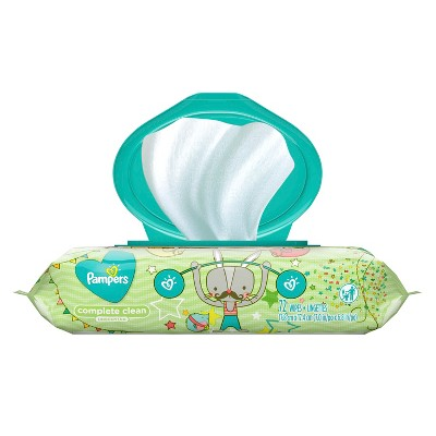 Pampers Wipes Complete Clean Unscented (72ct)