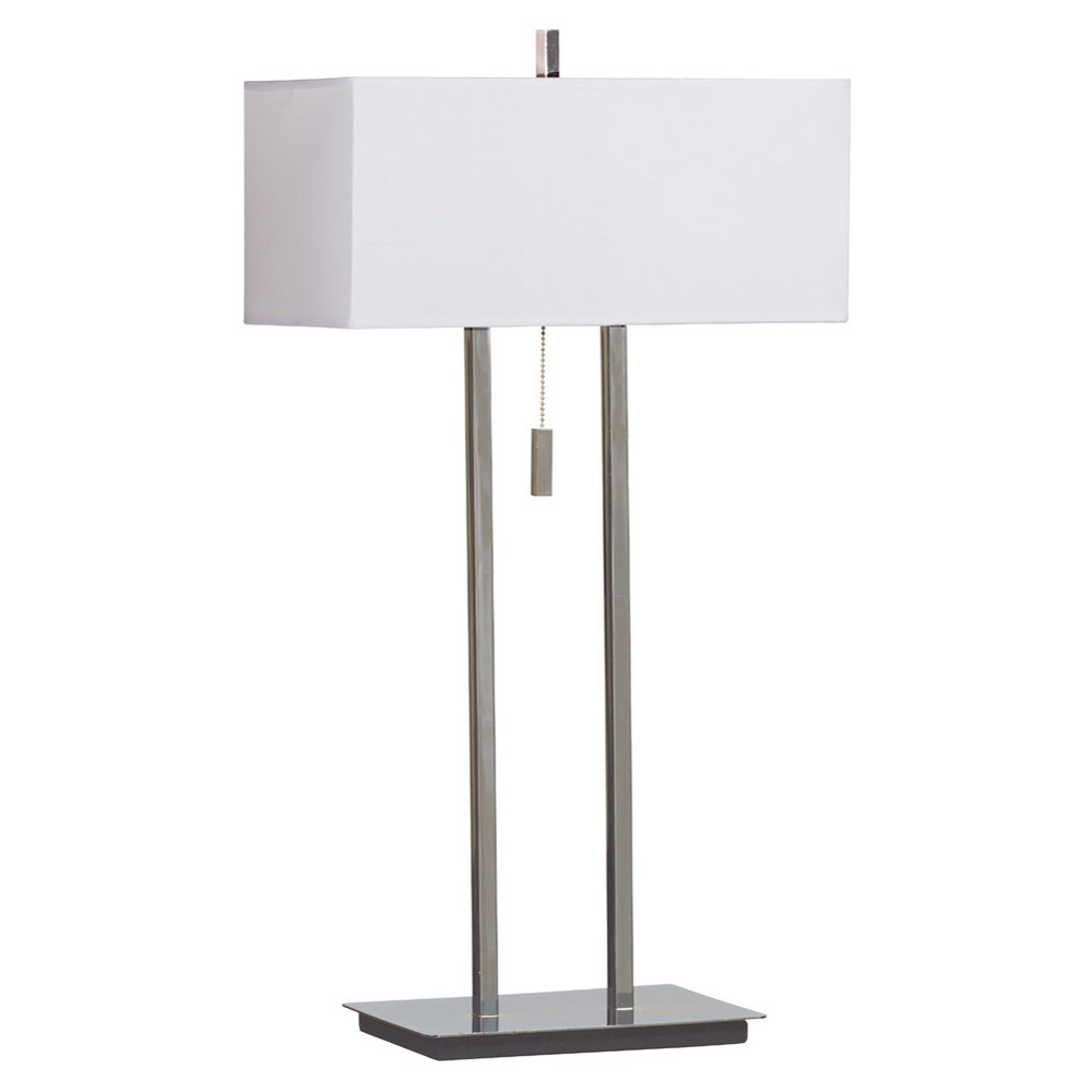 Image of Emilio Chrome Table Lamp, table lamps
