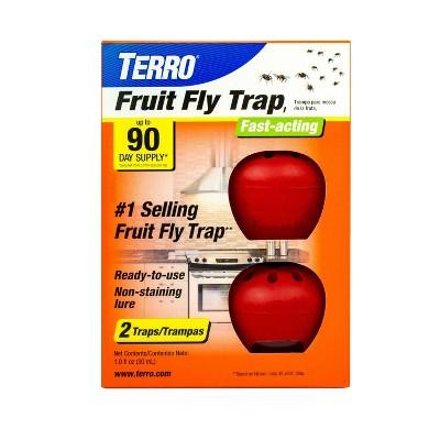 Terro 2pk Fruit Fly Trap
