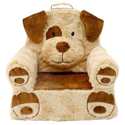 Soft Landing Sweet Seats Tan Dog Children's Soft Chair