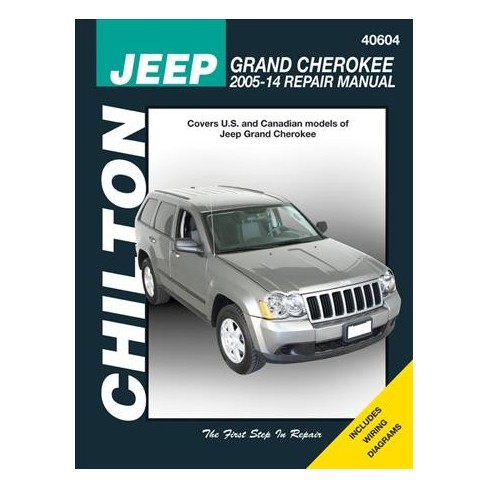 Pleasing Chiltons Jeep Grand Cherokee 2005 2014 Total Car Car Repair Manual Wiring Cloud Oideiuggs Outletorg