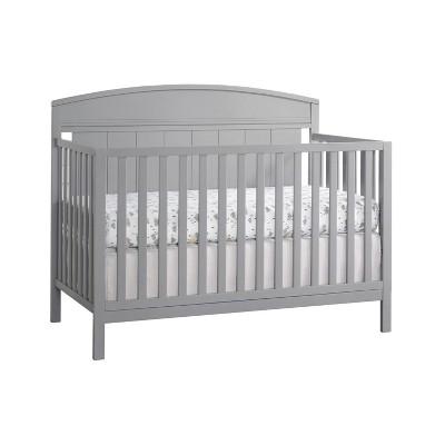 Baldwin 4-in-1 Convertible Crib - Dove Gray